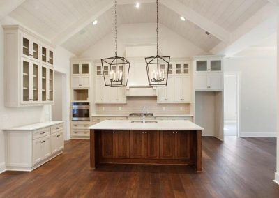Berkeley Hall Kitchen White Cabinets