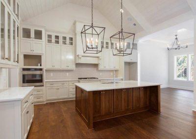 Berkeley Hall Kitchen White Cabinets With Nook