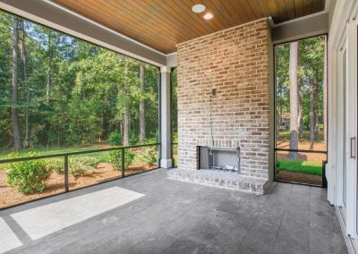 Berkeley Hall Outdoor Fireplace Relaxing Living