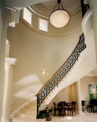 Bluffton Custom Unique Stairway 03