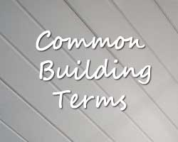Common Building Terms