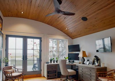 Ford Plantation Den with Curved Ceiling