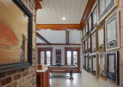 Ford Plantation Hallway Into Game Room