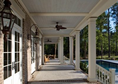 Greencraft Custom Hom Berkeley Bluffton Porch 034