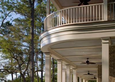 Greencraft Custom Home Berkely Hall Bluffton Balcony 8
