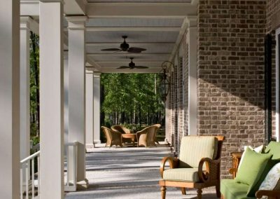 Greencraft Custom Home Bluffton Berkeley Hall Porch 10
