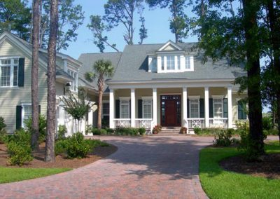 Greencraft Custom Home Bluffton Perfect Example of Low Country Style