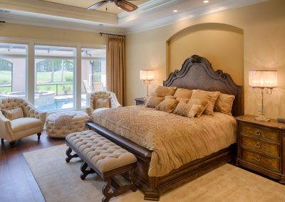 Greencraft Custom Home Master Bedroom Belfair Bluffton 05