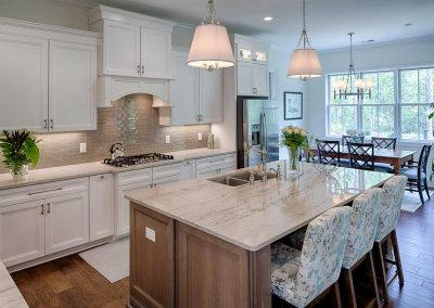 Greencraft Custom Homes White Cabinets