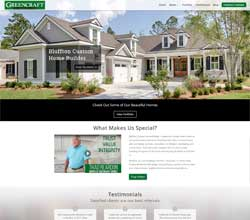Greencraft Homes Website Redesign