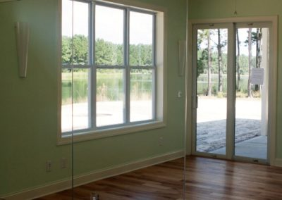Yoga Room Greencraft Homes Custom Hampton Lake Bluffton 08