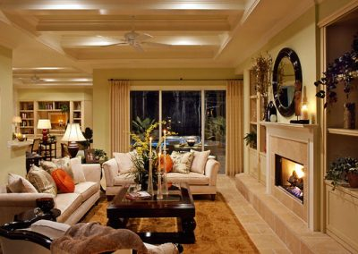 Greencraft Homes Family Room Design