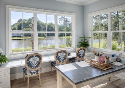 Greencraft Custom Homes Belfair Plantation Bluffton Art Room