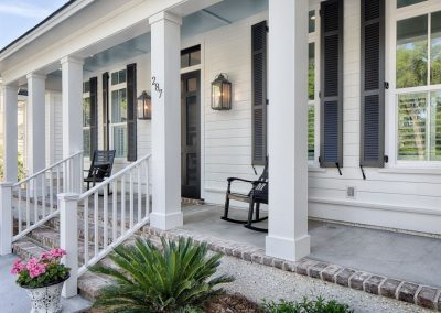 Greencraft Custom Homes Belfair Plantation Bluffton Front Porch 3