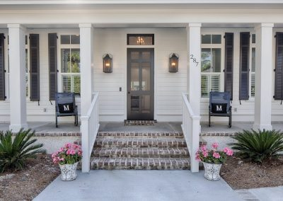 Greencraft Custom Homes Belfair Plantation Bluffton Front Porch 1