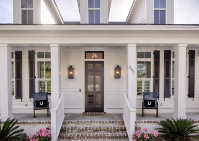 Greencraft Custom Homes Belfair Plantation Bluffton Front Porch 2