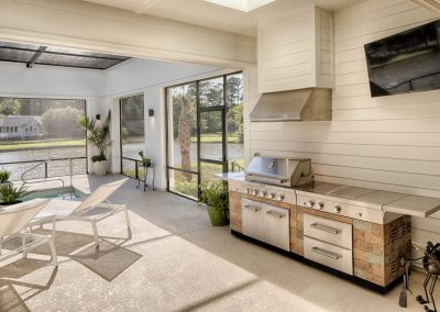 Greencraft Custom Homes Belfair Plantation Bluffton Outdoor Kitchen 1