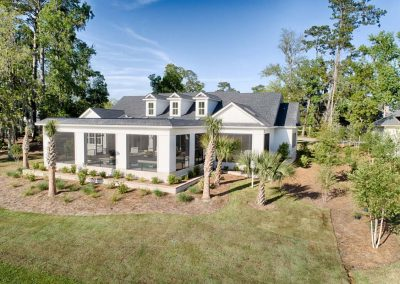 Greencraft Custom Homes Belfair Plantation Bluffton Outdoor View