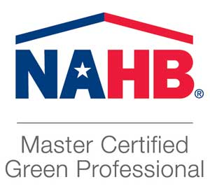 NAHB Master Certified Green Professional Certificate - Greencraft Homes